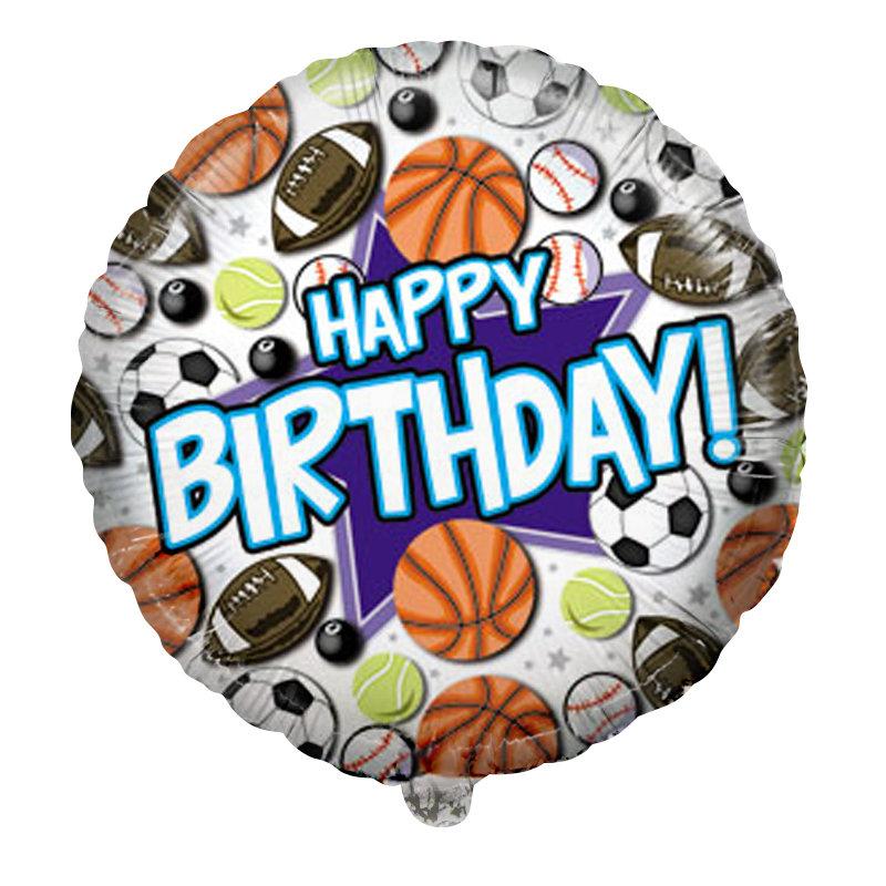 Днем рождения, с днем рождения открытка спортивная