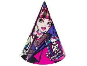 Колпак Monster High 8шт/уп